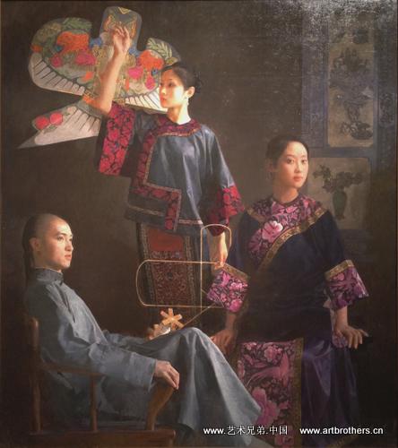 正阳吧陈剑_王沂东 艺术在线 2011中国写实画派七周年展开幕--艺术兄弟网