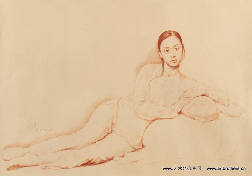 [迷恋]--王沂东素描(1) - 石墨閣画廊 - 石墨閣画廊--雨濃的博客